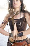 Femme de totem Photos stock