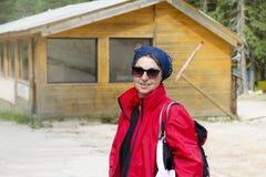 Femme de touristes Images libres de droits