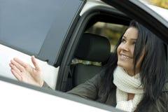 femme de véhicule Image libre de droits