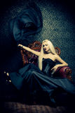 Femme de Vamp image stock