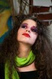 Femme de verticale Image libre de droits