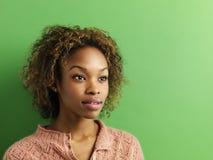 femme de verticale Photographie stock libre de droits