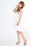 femme de verticale de beauté Photographie stock