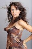 femme de verticale de charme Photo stock