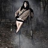 Femme de verticale de soldat Photo libre de droits