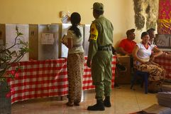 femme de vote de balinese Photos libres de droits