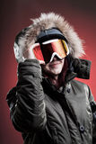 Femme de Wintersport Image libre de droits