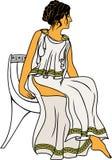 Femme du grec ancien Image stock