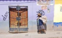Femme du Pérou Photos libres de droits