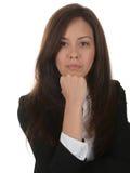 Femme dure d'affaires photo stock