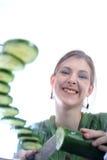 Femme en bonne santé Images libres de droits