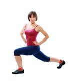 Femme en bonne santé de forme physique Image stock