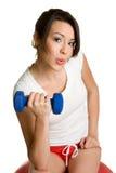 Femme en bonne santé de forme physique Images libres de droits