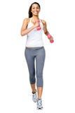 Femme en bonne santé de gymnastique Photographie stock libre de droits
