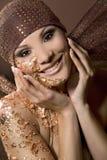 Femme en bronze photos libres de droits