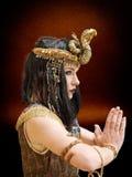 Femme en type de Cléopâtre images libres de droits