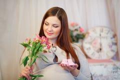 Femme enceinte Photos libres de droits