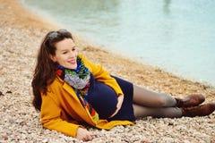 Femme enceinte Photo stock