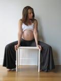 Femme enceinte Photo libre de droits