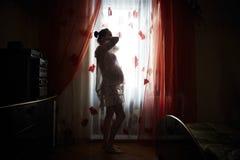 Femme enceinte d'Asiatique image libre de droits