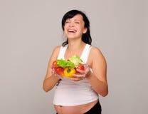 Femme enceinte de jeunes photos libres de droits