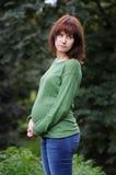 Femme enceinte de jeunes Images libres de droits