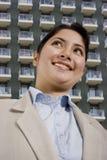 Femme et appartements Photographie stock