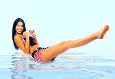 Femme et forme physique Photos stock