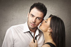Femme et homme Images stock