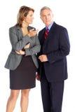 Femme et homme d'affaires d'affaires Photos libres de droits