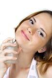 Femme et parfum photo libre de droits