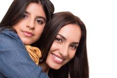 Femme et petite fille Photographie stock