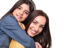 Femme et petite fille photo libre de droits