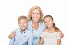 Femme et petits-enfants Photographie stock