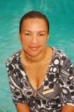 Femme ethnique image stock