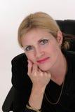 Femme exécutif attirant 7 d'affaires Image libre de droits