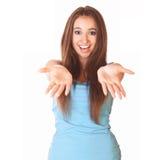 Femme Excited Photos libres de droits
