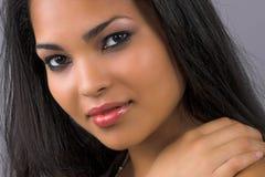 Femme exotique Photo stock