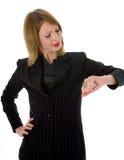 Femme expressif Images libres de droits
