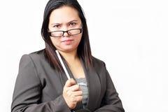 Femme fâché Image libre de droits