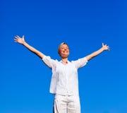 femme faisante attirante d'exercices Image stock