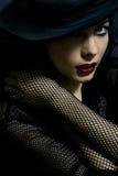 Femme fascinant Photo libre de droits