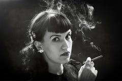 Femme fatal Foto de archivo libre de regalías