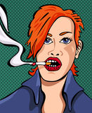 Femme Fatale. Graphic and vector conception vector illustration