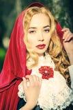 Femme fatale royaltyfri bild