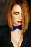 Femme Fatale languishing look Stock Image