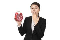 Femme fatiguée d'affaires Image libre de droits