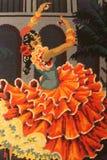 Femme Flamencan Fandango royalty free stock photo