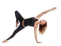 Femme flexible d'athlète Images libres de droits