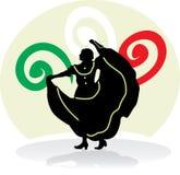 Femme folklorique mexicaine de danse Images stock